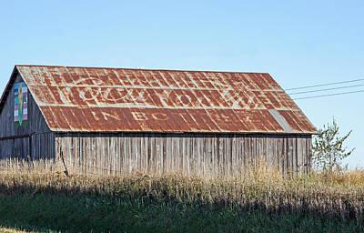 Photograph - Coca Cola Tin Roof by Deb Buchanan