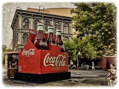 Photograph - Coca-cola by Wayne Gill