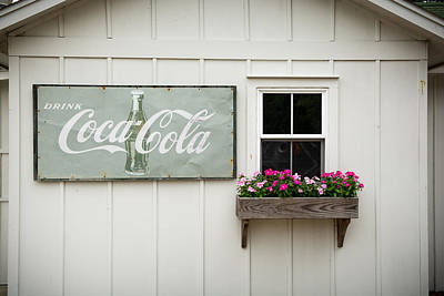 Photograph - Cocacola And Flowers by Dustin Ahrens