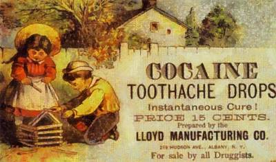 America Mixed Media - Cocaine Toothache Drops by Dan Sproul