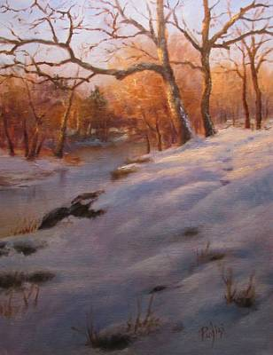 Pastel - Cocalico Snow by Bill Puglisi