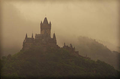 Photograph - Cochem Castle In Mist by Jenny Setchell
