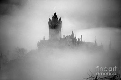 Photograph - Cochem Castle In The Fog by Rod Jones