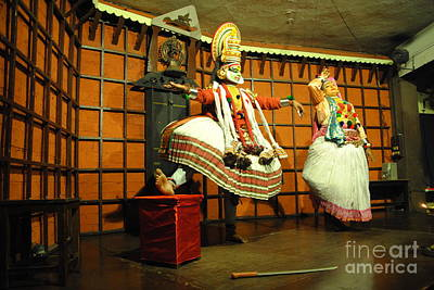 Photograph - Cochin Kathakali Dance by Jacqueline M Lewis