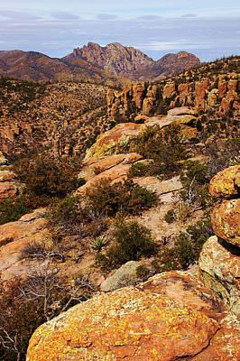 Photograph - Cochise Head View by Daniel Woodrum