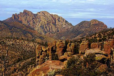 Photograph - Cochise Head View No.3 by Daniel Woodrum