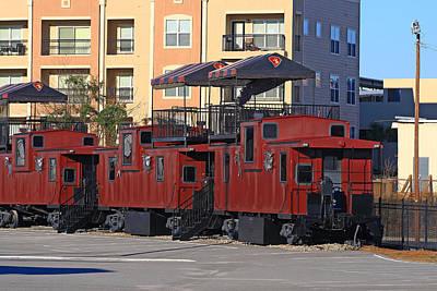 Pop Art - Cockaboose Railroad by Joseph C Hinson