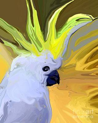 Cockatoo Digital Art - Cockatoo by Chris Butler
