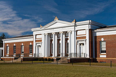 Photograph - Cocke Hall At Uva by Melinda Fawver
