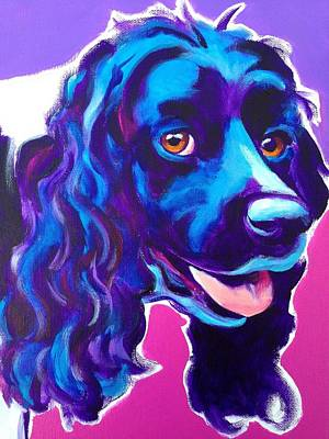 Cocker Spaniel Painting - Cocker Spaniel - Dixie by Alicia VanNoy Call