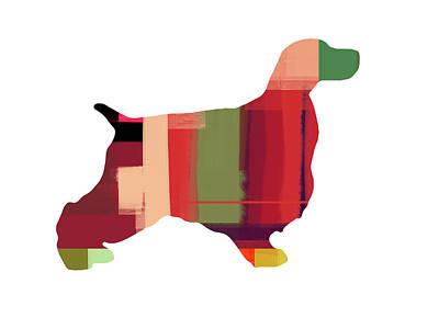 Puppy Mixed Media - Cocker Spaniel 2 by Naxart Studio