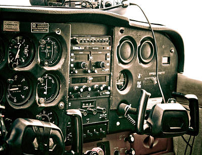 Photograph - Cockpit by Anthony Doudt