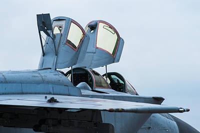 Foxhound Photograph - Cockpit - Featured 2 by Alexander Senin