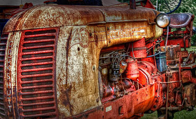 Photograph - Cockshutt Tractor by Bill Wakeley