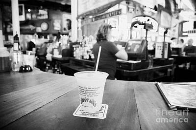 Slushy Photograph - Cocktail Slushie Drink In Sloppy Joes Bar Duval Street Key West Florida Usa by Joe Fox