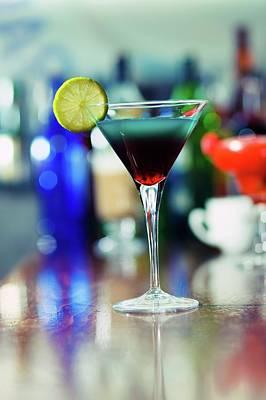 Alcoholic Drink Photograph - Cocktail by Wladimir Bulgar