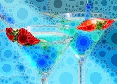 Martini Digital Art - Cocktails by Cindy Edwards