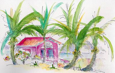 Painting - Coco Plum by Pat Katz