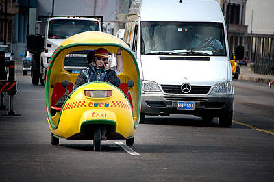 Photograph - Coco Taxi by Patrick Boening