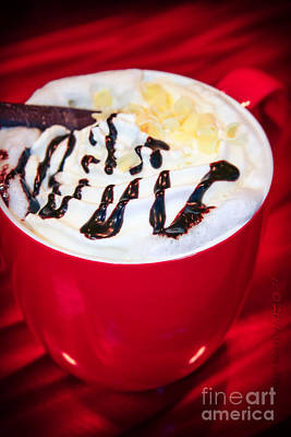 Kaffee Photograph - Cocoa Java Coconut Bliss by Sharon Mau
