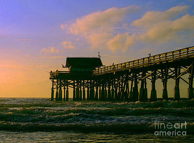 Photograph - Cocoa Pier by Jerry Hart