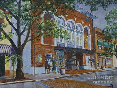 Painting - Cocoa Playhouse Study by AnnaJo Vahle