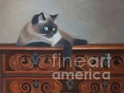 Painting - Cocobean Chillin by Margit Sampogna