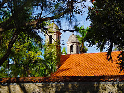 Photograph - Coconut Grove Church by Paul Gaj