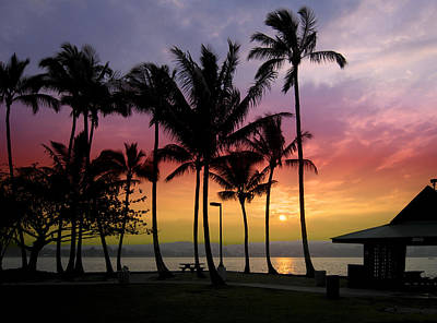Coconut Island Sunset - Hawaii Art Print by Daniel Hagerman