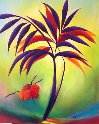 Coconuts Art Print by Karin Eisermann