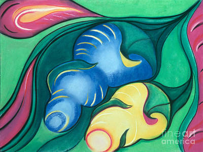 Pastel - Cocoons by Birgit Seeger-Brooks