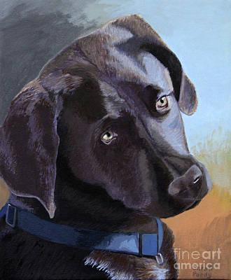 Coco's Portrait Art Print