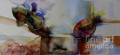 Painting - Cocotte Et Navet by Donna Acheson-Juillet
