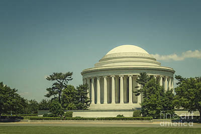 Jefferson Memorial Wall Art - Photograph - Code Of Honor by Evelina Kremsdorf