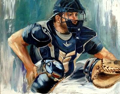 Collectible Sports Art Painting - Cody by Lindsay Frost