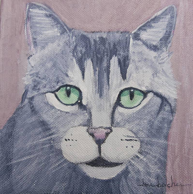 Whimsy Painting - Cody by Lou Belcher