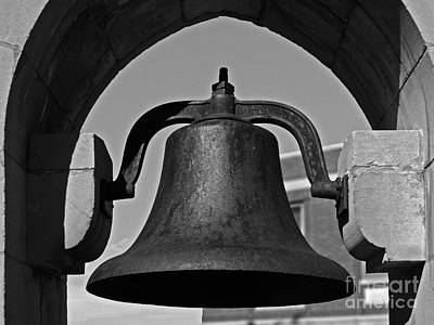 Diploma Photograph - Coe College Victory Bell by University Icons