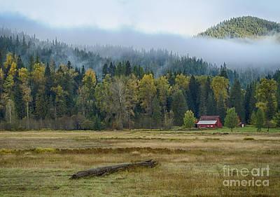 Photograph - Coeur D Alene River Farm by Idaho Scenic Images Linda Lantzy