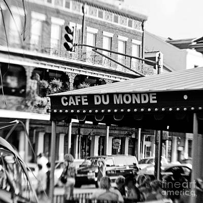 New Orleans Jackson Square Photograph - Coffee And Beignets by Scott Pellegrin