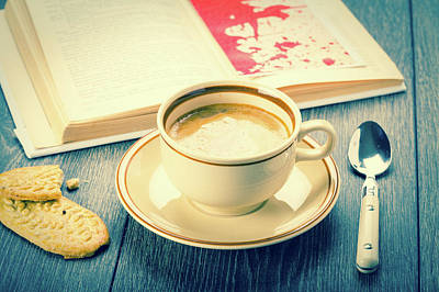 Coffee And Biscuits Art Print by Wladimir Bulgar