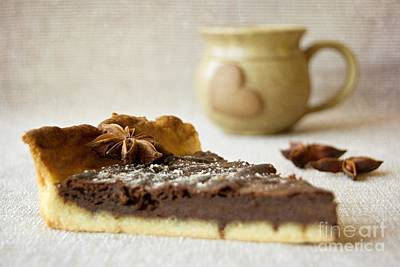 Photograph - Coffee And Cake by Katerina Vodrazkova