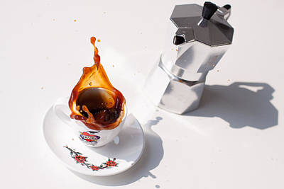 Photograph - Coffee And Maggina by Thomas Schaller
