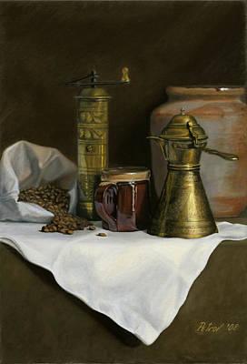 Petrov Painting - Coffee Balkanica by Dan Petrov