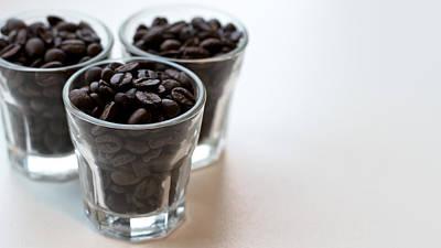 Coffee Beans Art Print by Gavin Lewis