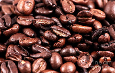 Photograph - Coffee Beans by John Rizzuto