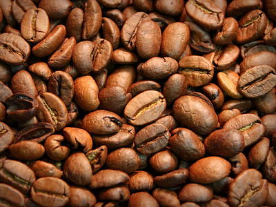 Photograph - Coffee Beans by Joseph Skompski