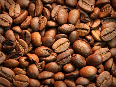 Photograph - Coffee Beans by Joseph Skompski