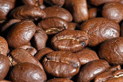 Photograph - Coffee Beans by Marek Poplawski