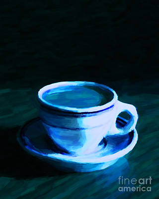 Java Tea Photograph - Coffee Break 20130717p180 by Wingsdomain Art and Photography