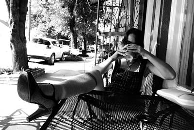 Photograph - Coffee Break New Orleans Style by Louis Maistros
